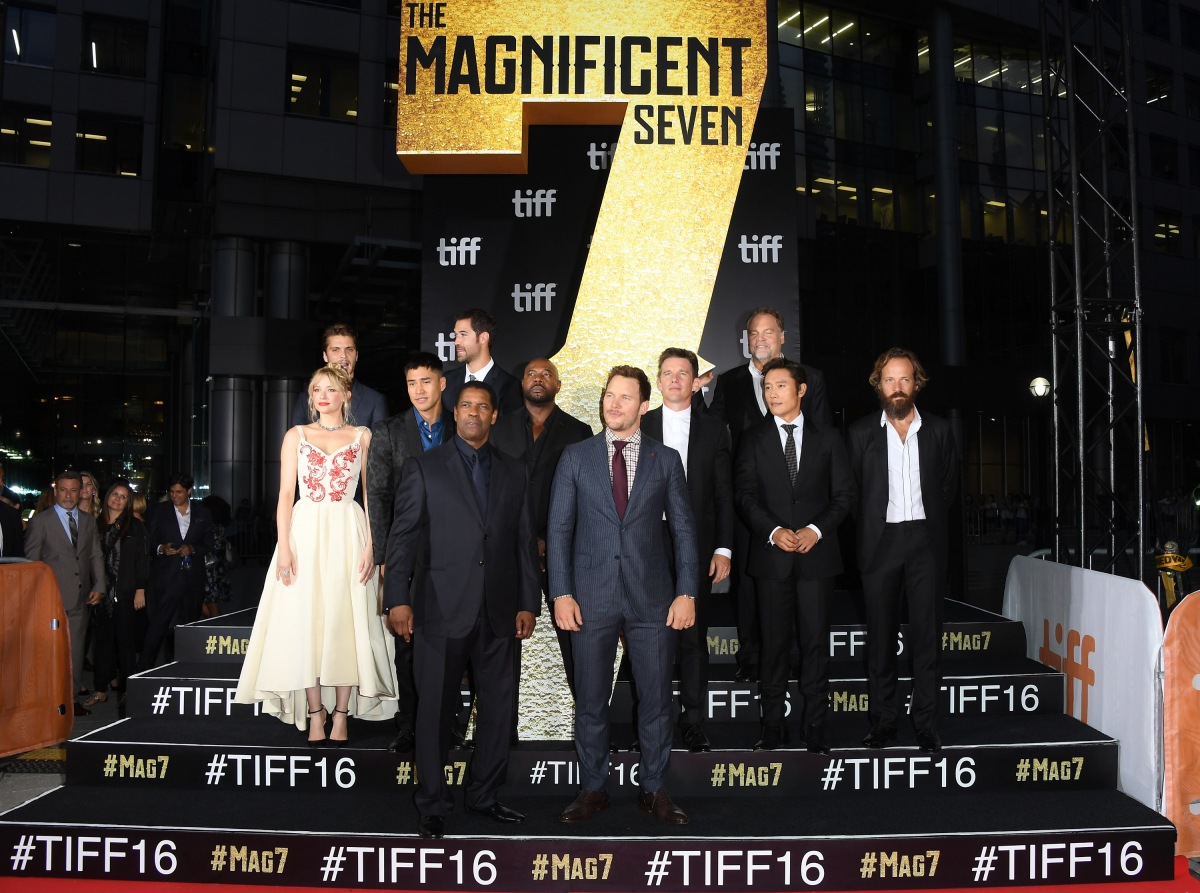 The Magnificent Seven - Gala Presentation @ TIFF