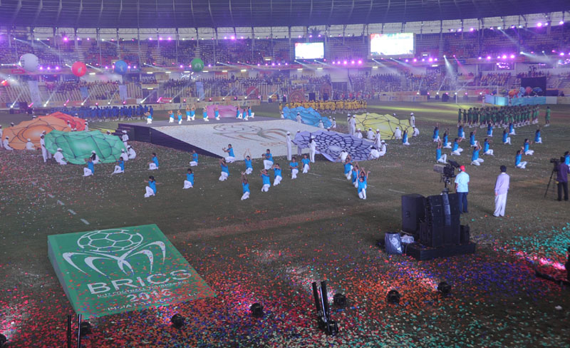 BRICS U – 17 Football Tournament Concludes with ColourfulCeremony