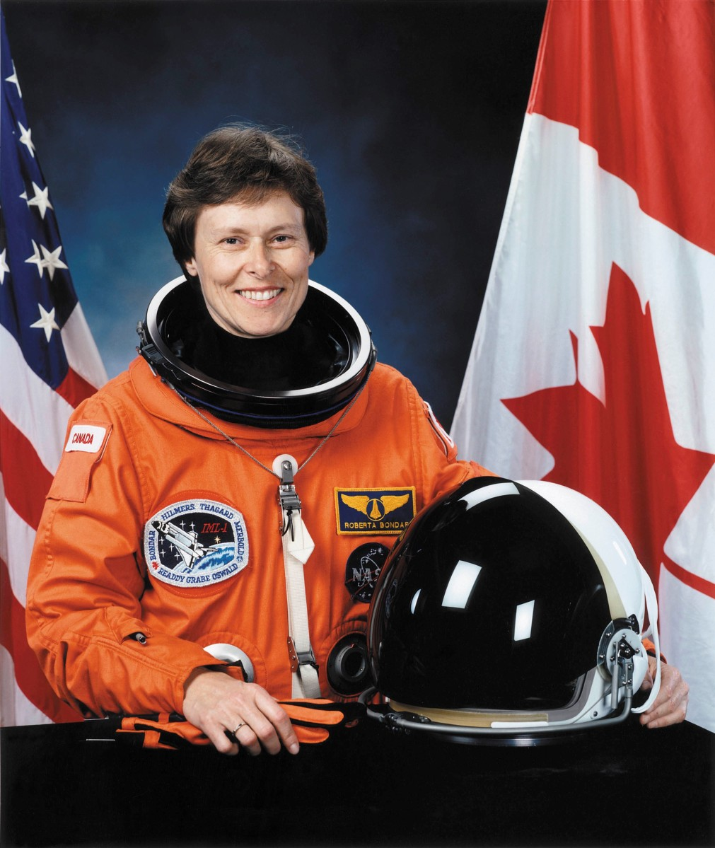 Dr. Roberta Bondar to receive Life-Time Achievement Award
