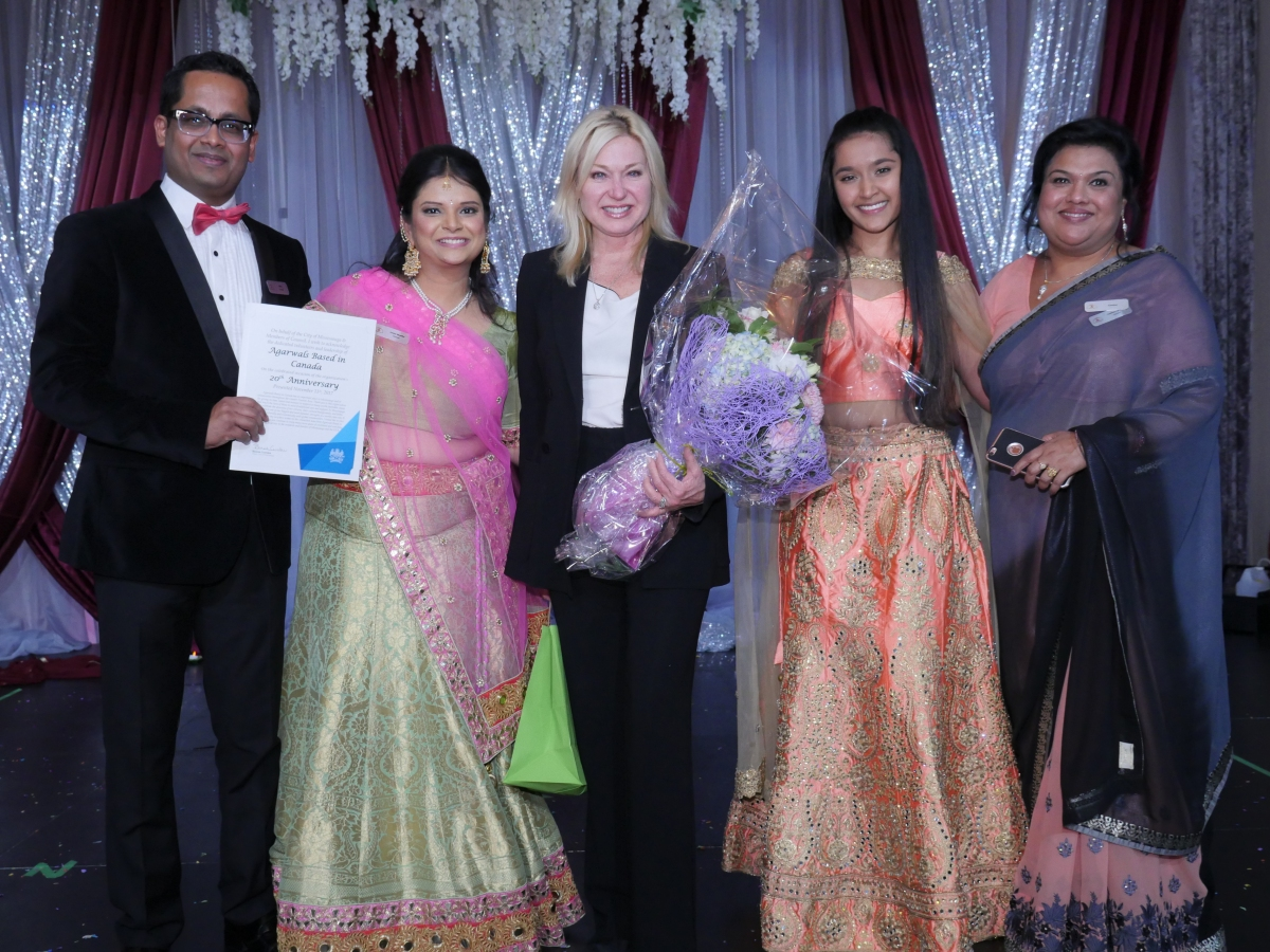 Agarwals Based in Canada celebrate 20th Year Anniversary Gala