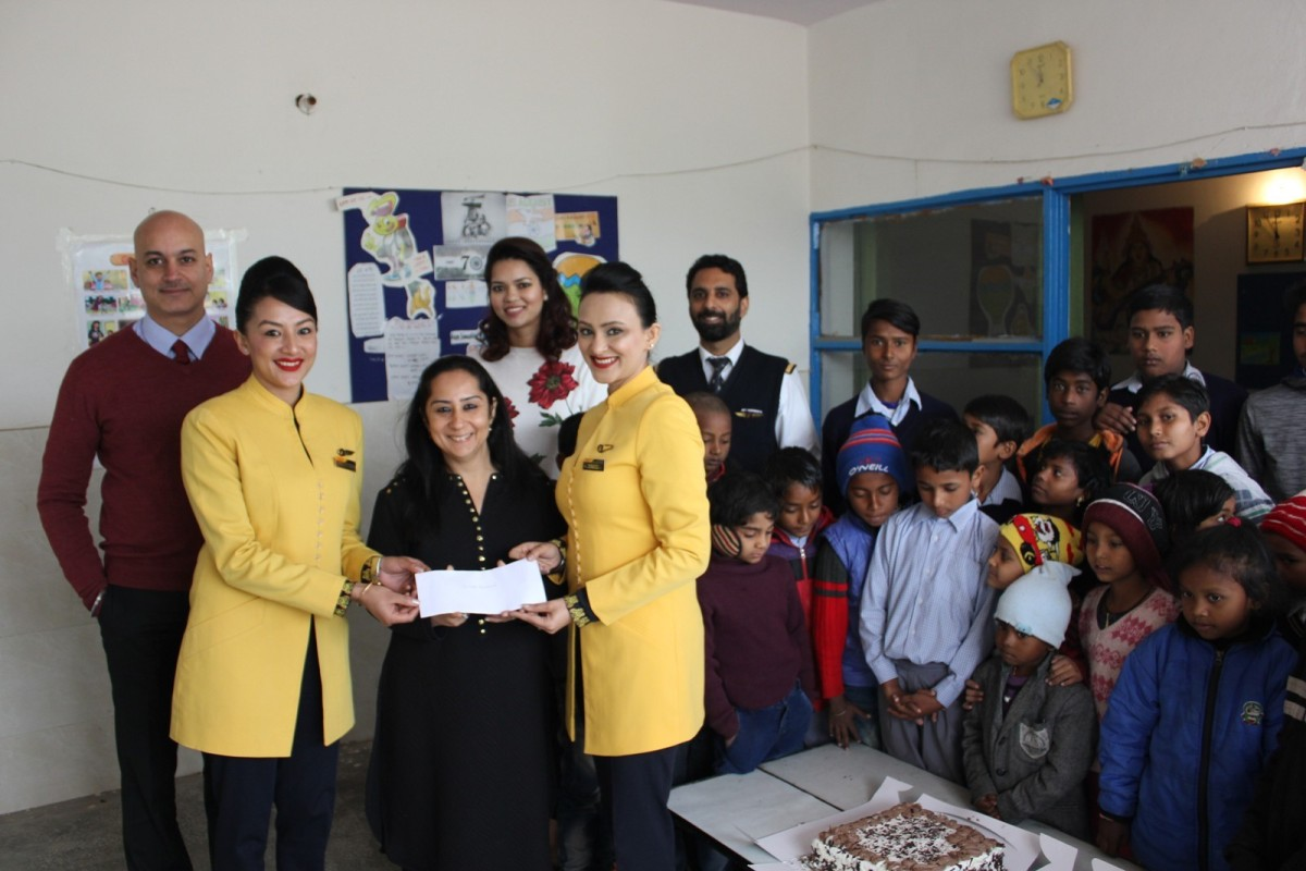 JET AIRWAYS' ANNUAL JOY OF GIVING PROGRAM CONTINUES TO SPREAD CHEER AMONG THE UNDERPRIVILEGED