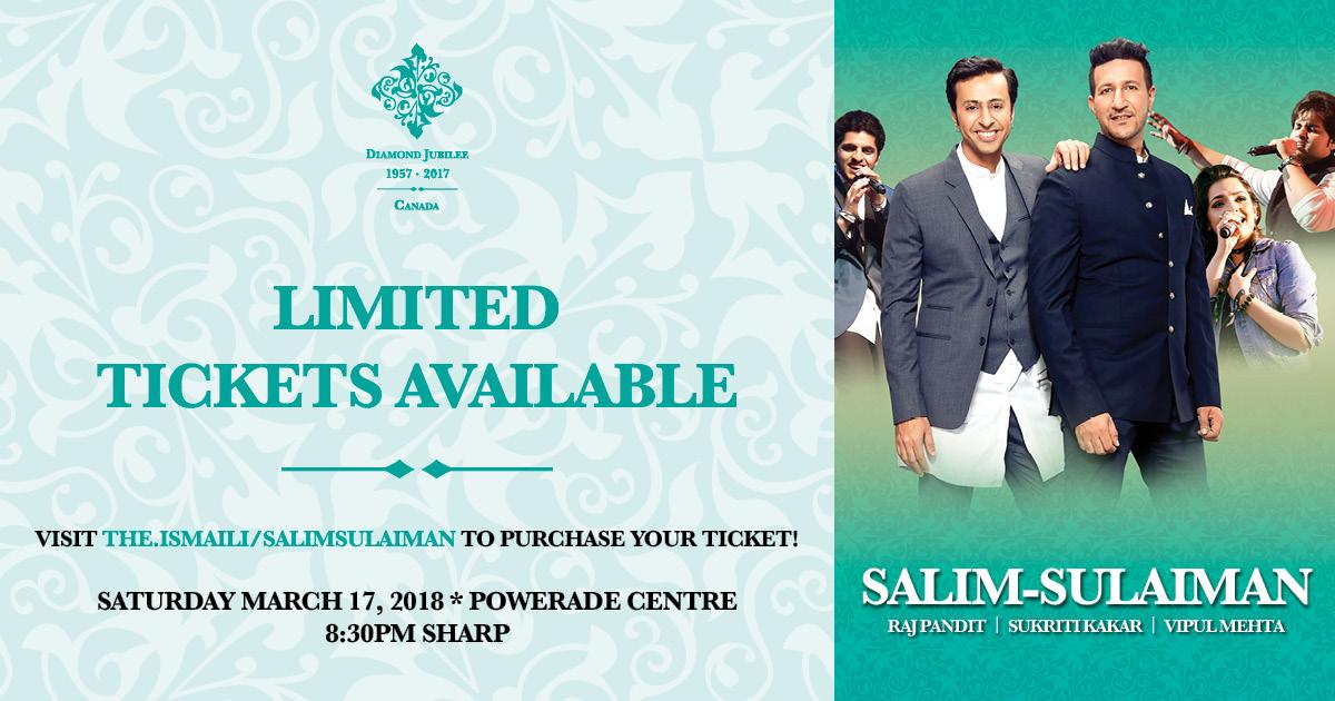 Canadian Ismaili Muslims Welcome Indias Popular Music Duo Salim