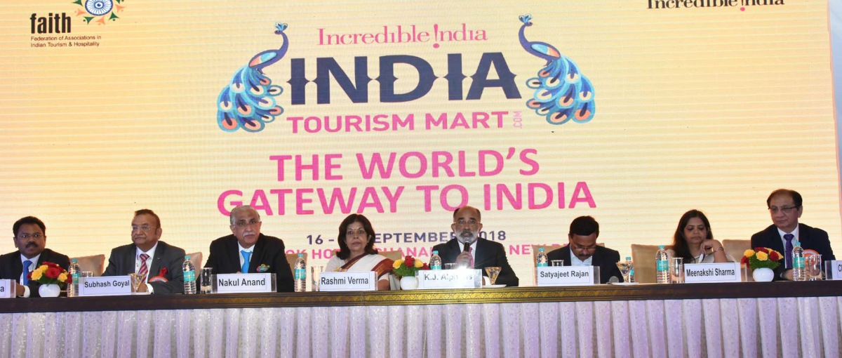 India is among the fastest growing tourist destinations in the world