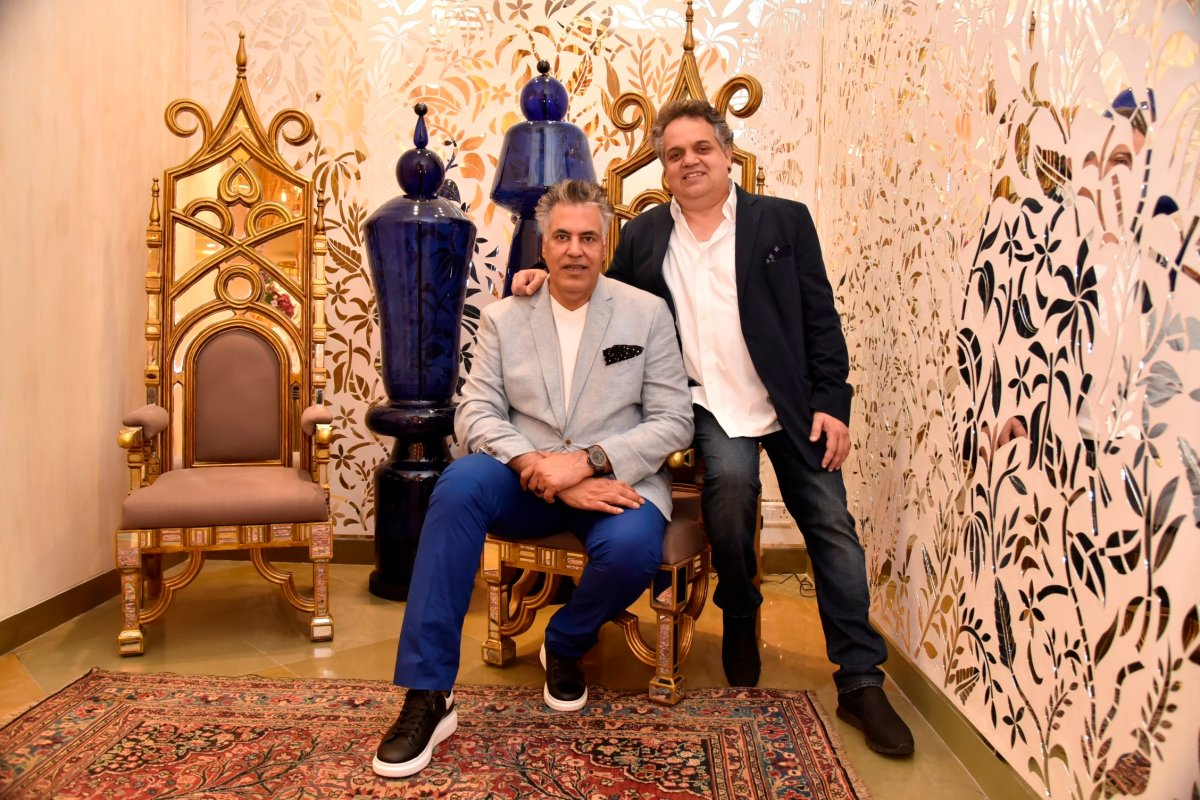 Abu Jani - Sandeep Khosla host Trunk Shows in NYC