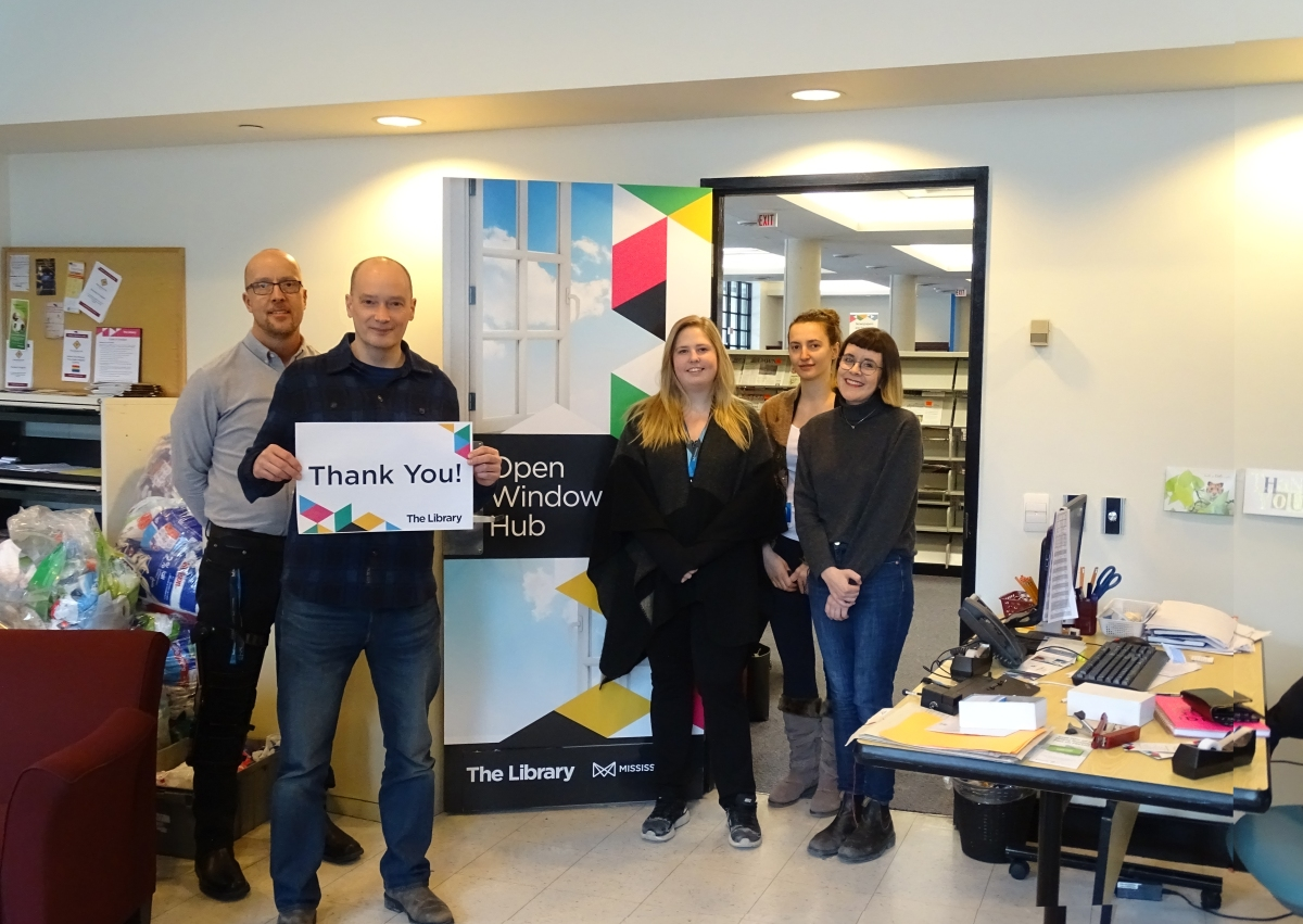 Mississauga Library Receives Generous Donation for Homeless Outreach Initiative