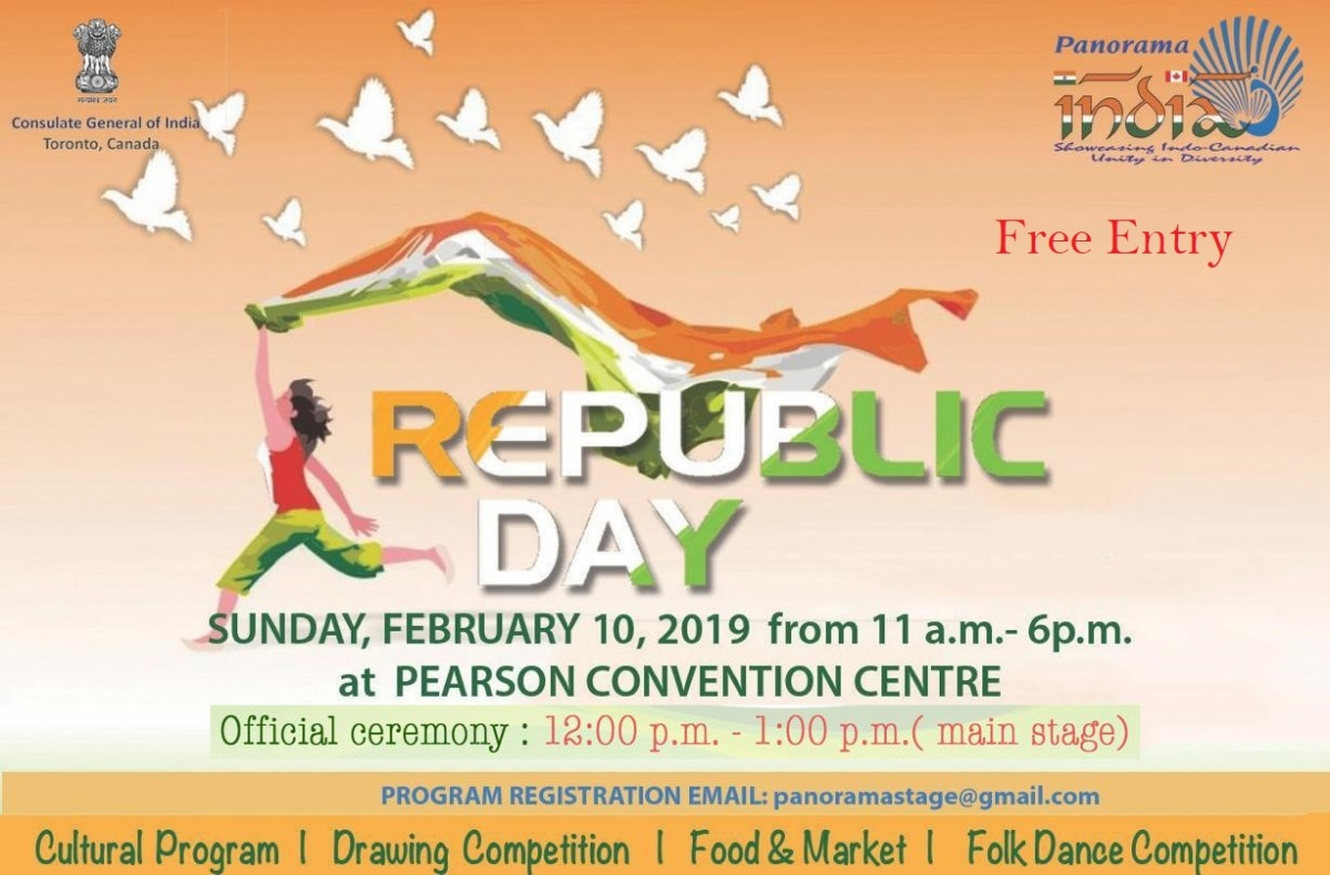 Participate & Celebrate: India Day Celebrations on 10 February 2019